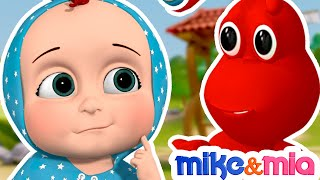 Ants Go Marching One by One | English Nursery Rhymes for Children and Kids Songs | Mike & Mia
