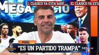 """🙄🚨""""Este CLÁSICO tiene MUCHA TRAMPA, el BARÇA tiene MENOS que PERDER"""", ÓSCAR PEREIRO AVISA."""