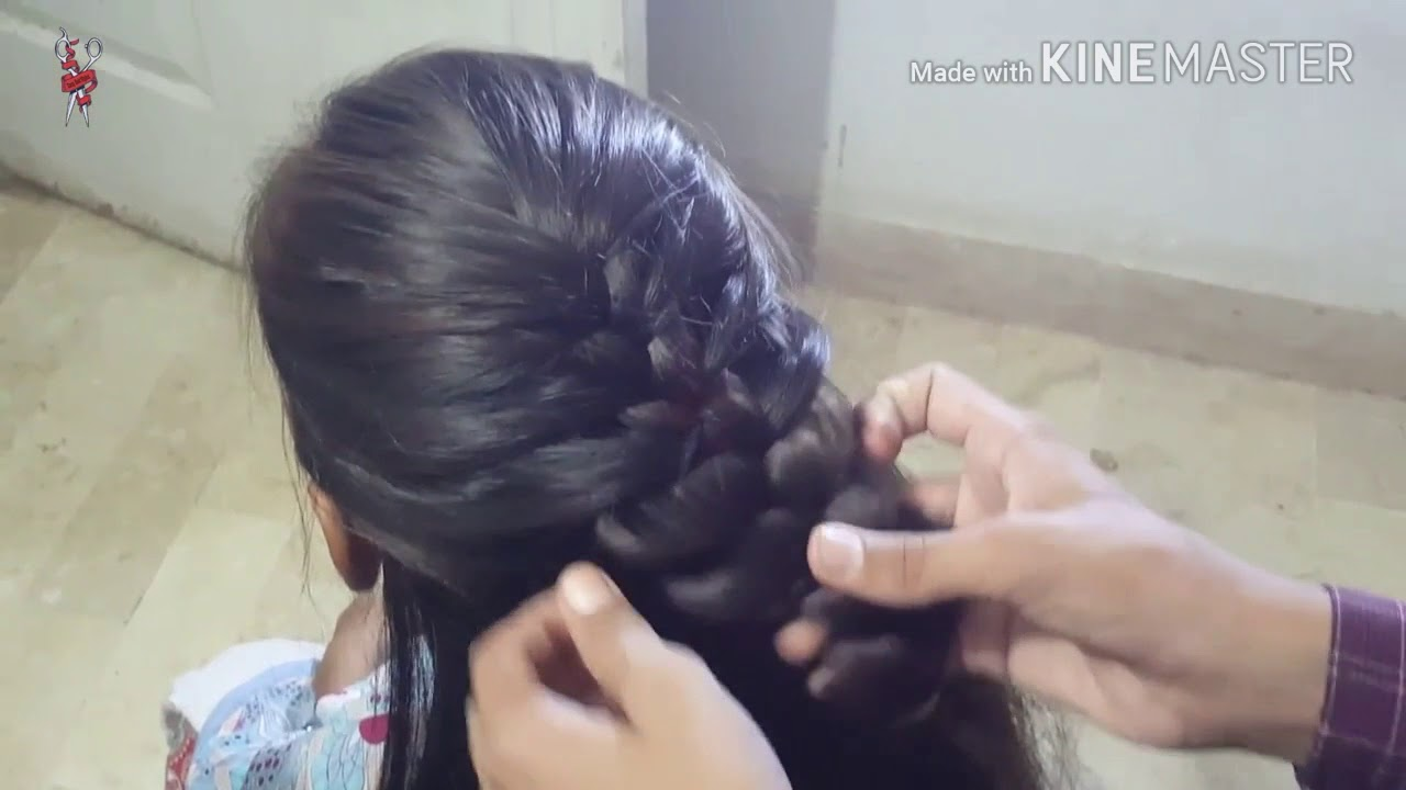 Simple And Beautiful Hairstyle For Eid Occasions 2018 Easy