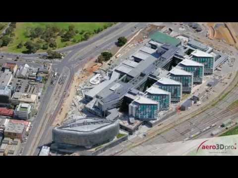 3D Model Of The New Royal Adelaide Hospital - September 2015