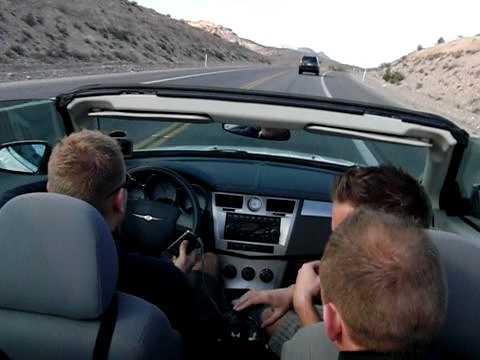 Las Vegas road trip, med de danske drenge.