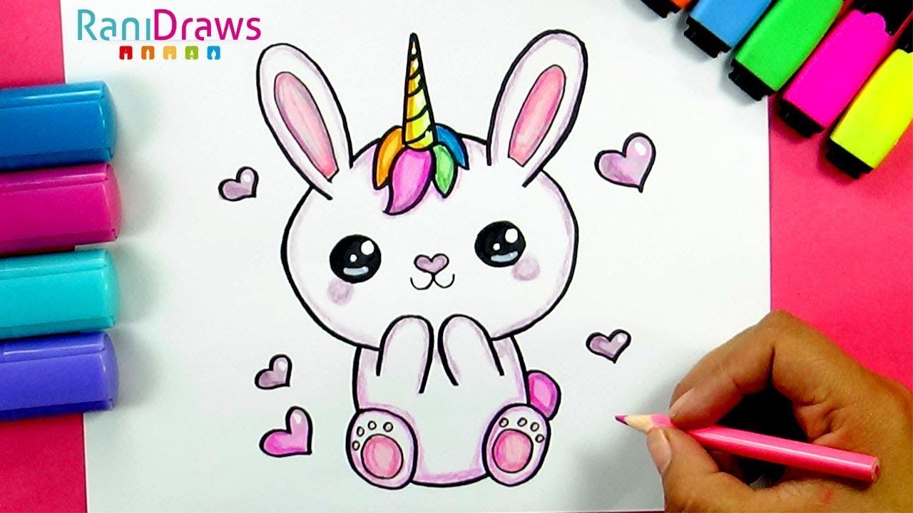 un dibujo de unicornio 2020
