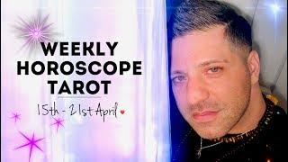 Weekly Horoscope Tarot  15th   21st April 2019   F NANCES  HEALTH And LOVE   Horoscope Tarot