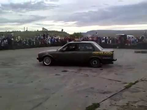 car spinning in Lesotho