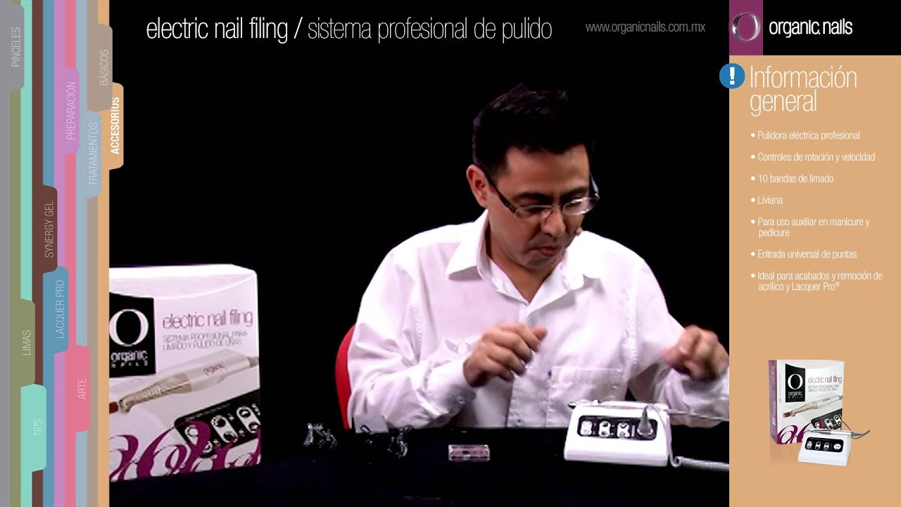 Electric Nail Filing / Sistema profesional para limado y pulido de ...