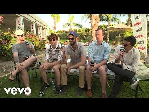 Vampire Weekend - Fuse Interview (Coachella 2013)
