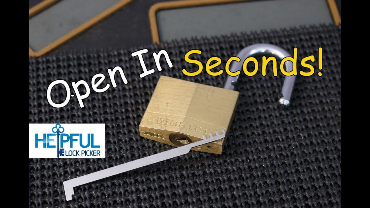 helpfullockpicker lockpicking locksport [ 1280 x 720 Pixel ]