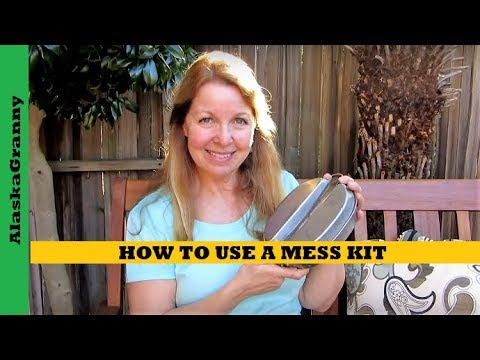How To Use A Mess Kit 1944 US Army Mess Kit