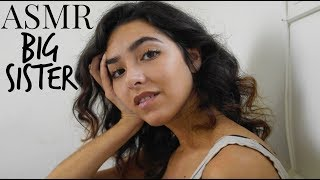 ASMR Big Sister Comforting Roleplay (Soft Speaking) | ASMR Glow