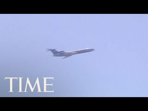 Video Of Low-Flying Russian Surveillance Plane Flying Over Capitol & Pentagon | TIME