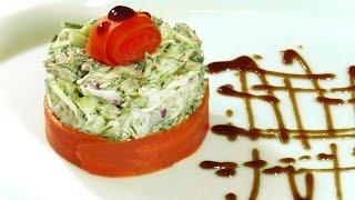Салат с говядиной. Как приготовить вкусный салат.