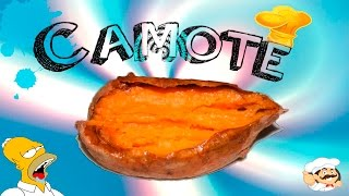 Como hacer CAMOTE al microondas //COMIDA NAVIDAD// As cook sweet potatoes. Microwave.