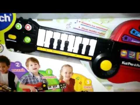 guitarra y piano musical Vtech