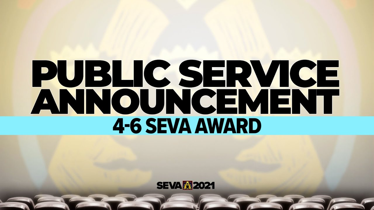 SEVA 2021: PSA 4-6 SEVA Award – Wash Your Hands!