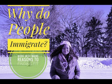 WHY DO PEOPLE IMMIGRATE TO CANADA? REASONS FOR IMMIGRATION / MIGRATION -  FINDING FIT