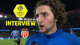 Interview de fin de match :paris saint-germain - as monaco ( 7-1 )  / 2017-18