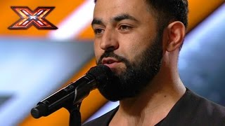 "This guy got three ""YES"" with his own song. The X Factor 2016"
