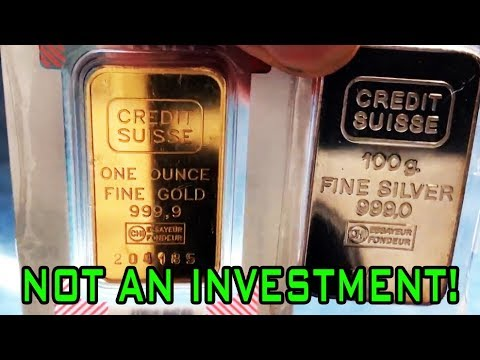 Why Gold & Silver Are NOT An Investment!