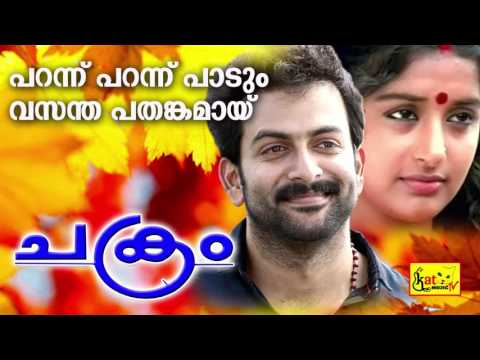 പറന്ന് പറന്ന് | Parannu Parannu | Chakram | Evergreen Hit Malayalam Film Song | Prithviraj | Meera