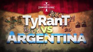TORNEO 60000 U$D ECL - TYRANT vs ARGENTINA (Discipulos de Abraxas)