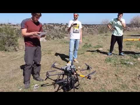 Project Planning in Geomatic- use of helicopter dron