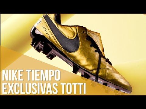Nike Tiempo Legend Francesco Totti. 2.500 pares producidos para todo el mundo