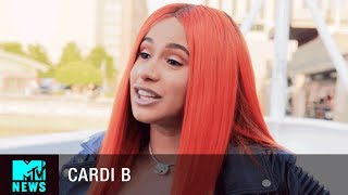 Cardi B on How Kodak Black Inspired 'Bodak Yellow' | MTV News