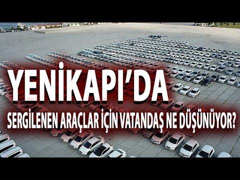 Yenikapı'da Sergilenen Araçlar Hakkında Vatandaş Ne Düşünüyor?