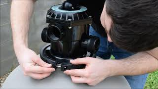 How To Install A Pool Sand Filter - Rx Clear Radiant 24