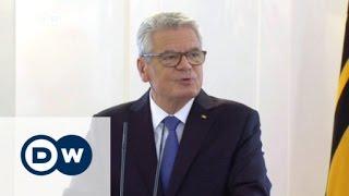 الرئيس الالماني يواخيم غاوك يعلن انه لن يترشح لولاية ثانية   الأخبار