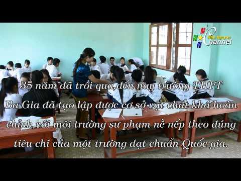 Trường THPT Ba Gia 35 năm xây dựng và đổi mới - Tập thể 11B3
