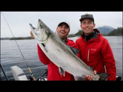 Ucluelet British Columbia Chinook Salmon Fishing Adventure