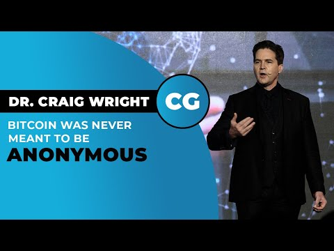 "Dr. Craig Wright On Why Bitcoin Is ""honest Money"""