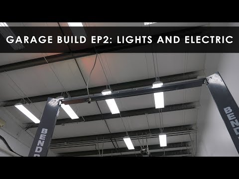 Garage Build | Lighting and Electrical | Part 2
