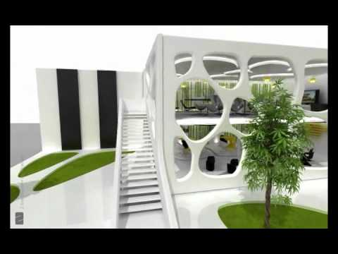 Exhibition Stand Design Egypt : Damac exhibition stand at next move 2008 egypt youtube
