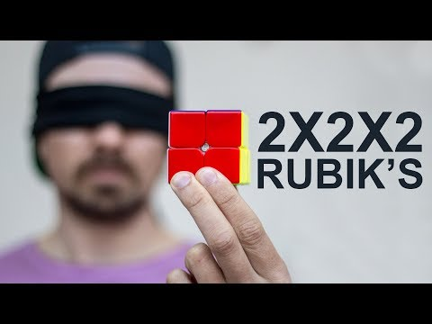 I Learned to Solve the 2x2x2 Rubik's Cube Blindfolded