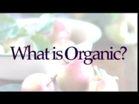 What is Organic Food? Myra Goodman, from Earthbound Farm Explains