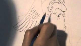 Caricatura de San Pedro 2