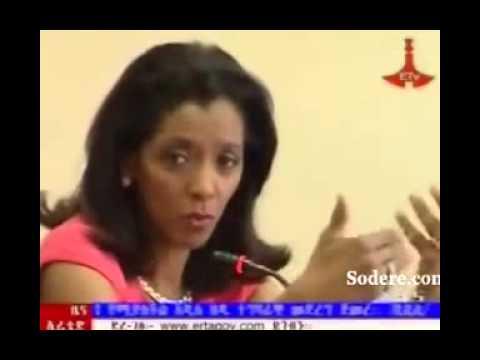 Ethiopia - BBC Journalist Zeinab Badawi meet with female journalists