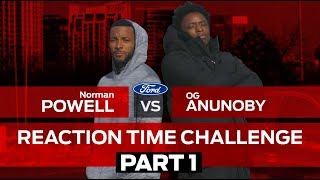 Norman Powell vs OG Anunoby: Ford Reaction Time Challenge – Episode 1