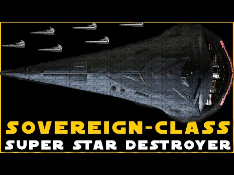 Sovereign-class SSD   Flagship of the Future Empire (that never came to be)