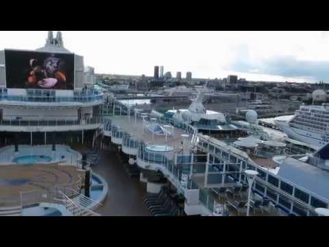 Princess Regal in Tallinn Cruise port