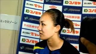 2012年6月24日、 大阪・高槻市立萩谷総合公園サッカー場で女子サ...