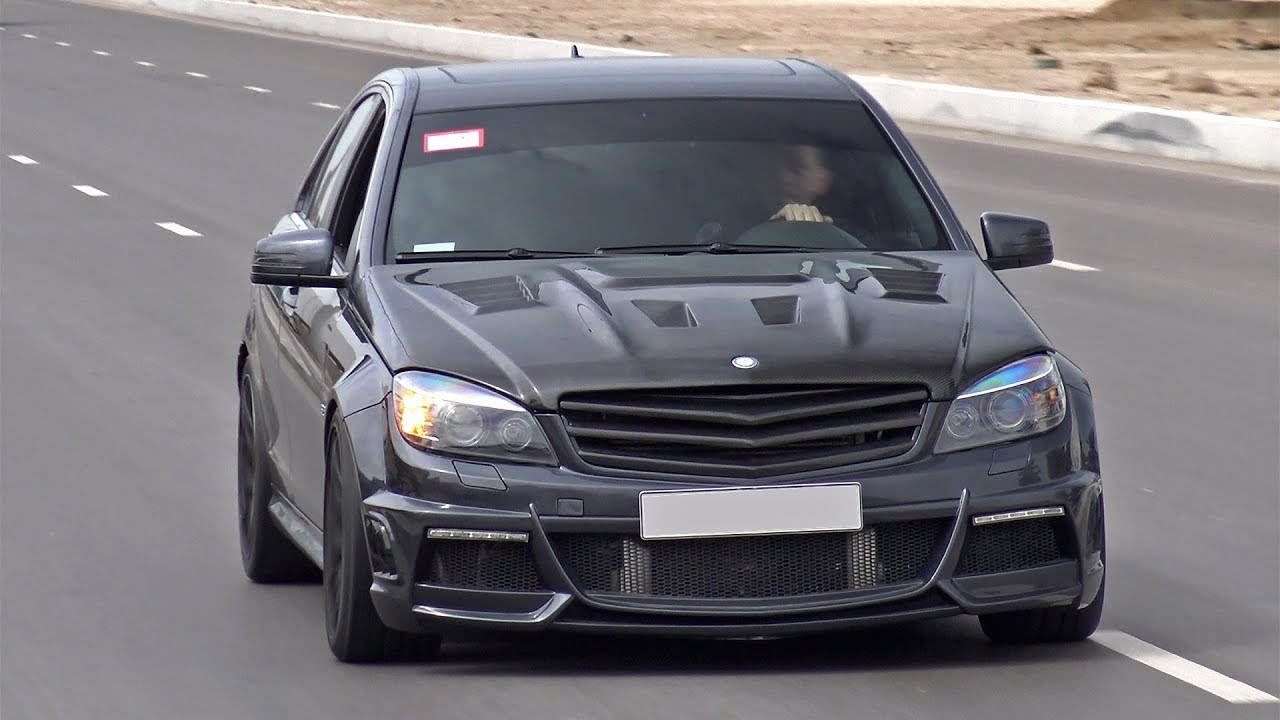 890HP Mercedes C63 AMG WEISTEC Supercharger! LOUDEST C63 EVER?