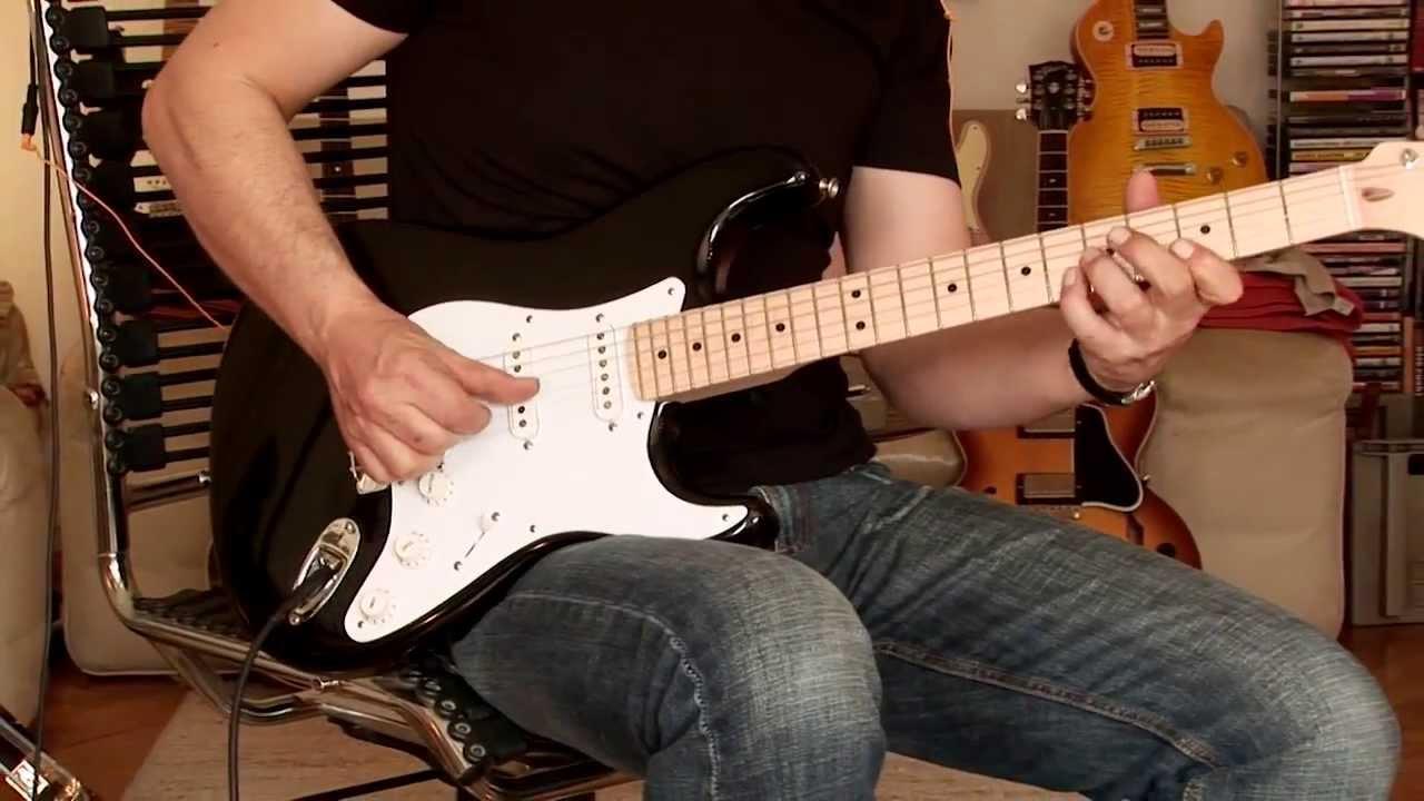 eric clapton fender guitar [ 1280 x 720 Pixel ]