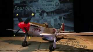 parkzone ultra micro p51d mustang bnf with as3x pkzu2480