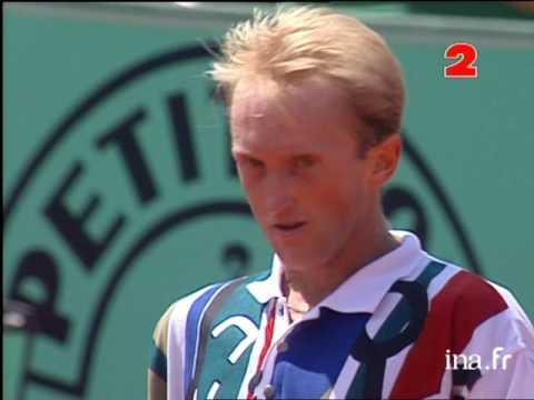 Schaller Sampras Roland Garros 1995