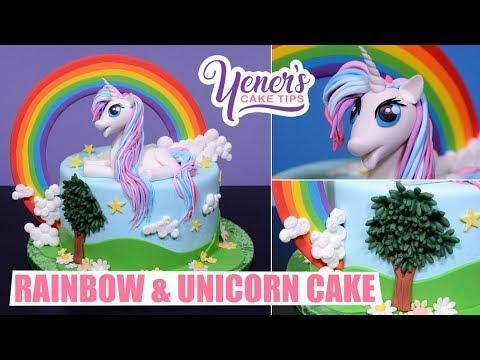 MY LITTLE PONY Cake Tutorial | Yeners Cake Tips with Serdar Yener from Yeners Way