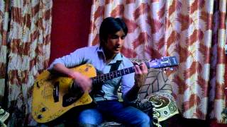 Ye Shaam Mastani on guitar  by Karan & Arti