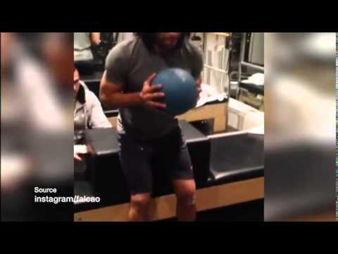 Falcao steps up rehabilitation in bid for World Cup fitness